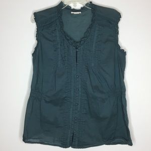 Converse One Star Hunter Sleeveless Peasant Blouse